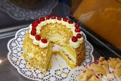 Hausgemachte Kuchen und Torten
